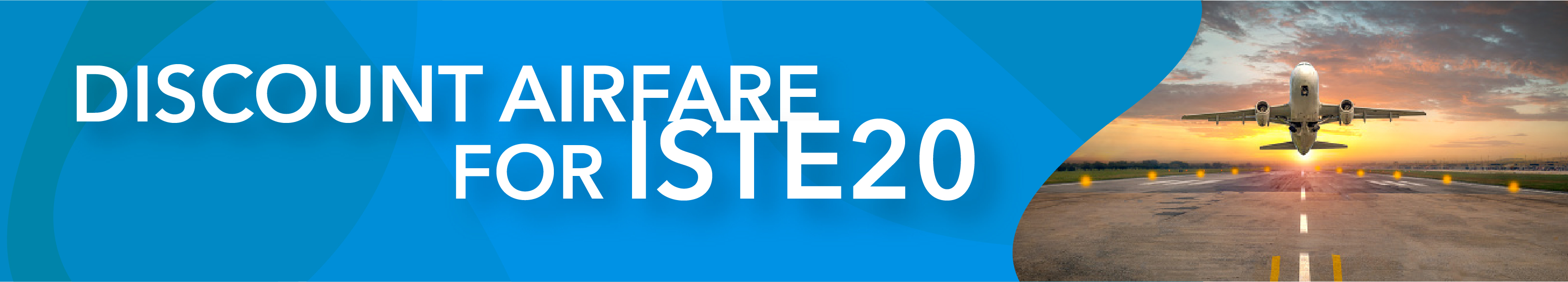 Discount Airfare for ISTE20